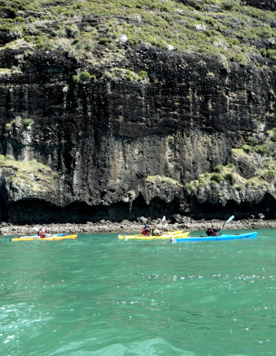 Whangaroa Kayak - rocks and emerald waters